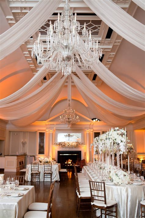 draping for wedding receptions and chiffon ceiling treatment t s board in