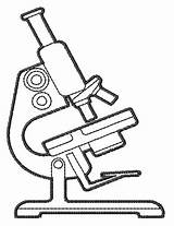 Microscope Drawing Stitch Outline Satin Clipart Cliparts Embroiderydesigns Embroidery Metabolism Without Machine Stockdesign sketch template