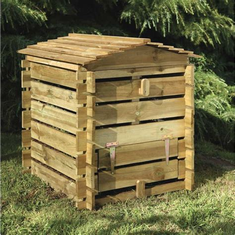 wooden compost bin wooden compost bins fast delivery greenfingers 5172