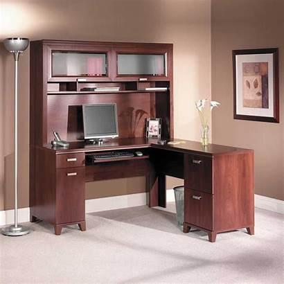 Cherry Desk Computer Office Solid Tuxedo Bush