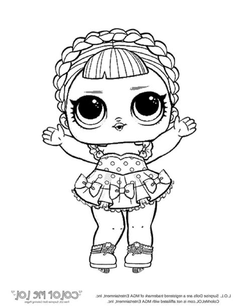 suddenly lol dolls coloring pages doll surprise lil