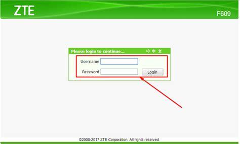 Root, password default pada gpon ont f609/f660 adalah: Cara Mengganti Password Login Default Pada Modem Router ZTE F609 - Berbagi Ilmu Gratis