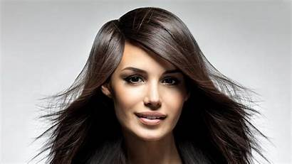 Hair Face Brunette Straight Wallpapers Backgrounds