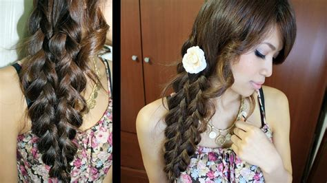 Mermaid Tail Braid Hairstyle Hair Tutorial