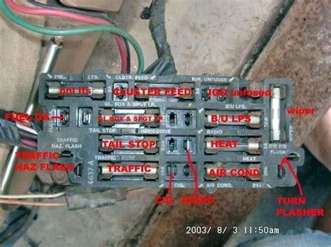 Chevy Fuse Box Wiring Diagram