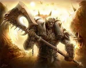 """Warcraft Orc-Warlord """"Garosh Hellscream""""   Blizzard ..."""