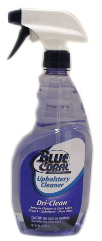 blue coral upholstery cleaner others more
