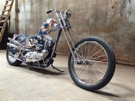 Ironhead Sportster Gulf Bobber By Dp Customs