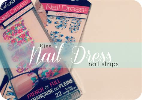 Kiss Nail Dress Strips- Overnight Success And Glamorous