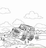 Coloring Pages Polaris Atv Template Sketch sketch template