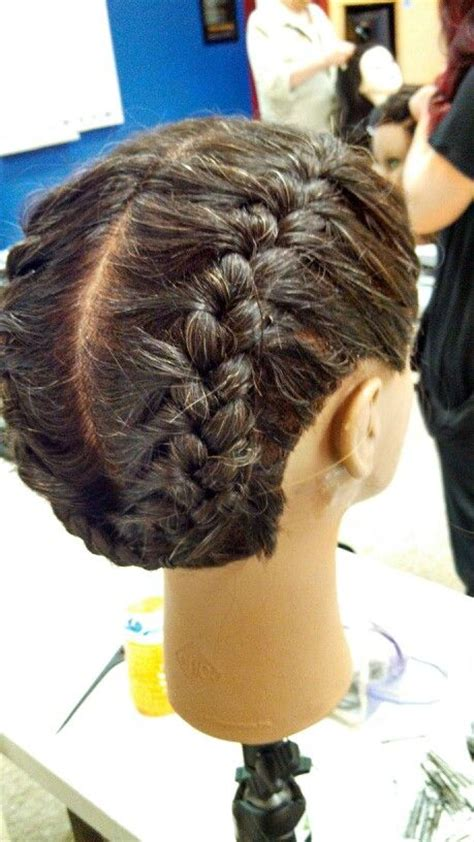 french braid pigtails hair designs pinterest pigtail