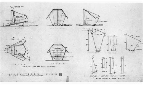 woodworking frank lloyd wright origami chair plans
