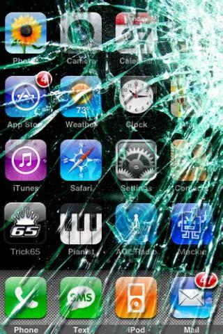 broken iphone screen abstract iphone wallpaper