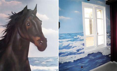 deco chambre fille theme cheval