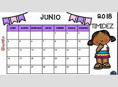 Calendario 2018 para Imprimir Anual, Mensual, Escolar