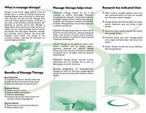 free downloadable massage therapy brochures design by With free massage therapy brochure templates
