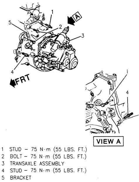 Chevy Cavalier Parts Diagram