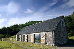 Scottish House Designs Inspiration by Leachachan Barn Rural Design Architects Isle Of