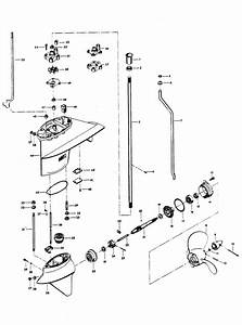Chrysler 35 Hp  1974  Gear Housing Parts