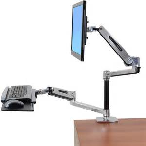 workfit lx ergotron 45 405 026 sit stand desk mount system