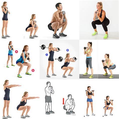 exercices squat fessier muscu maison