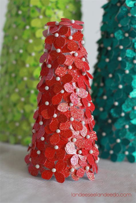 festival of trees glitter cardstock trees landeelu com