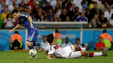 Germany vs Argentina World Cup Final