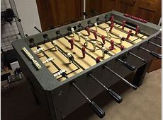 Diy Foosball Table Plans Do It Your Self