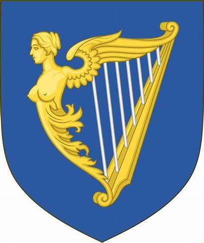 Ireland Arms Coat Svg Irish Commons Historical