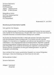 Bewerbung Ferienjob Student : bewerbungsschreiben aushilfe ~ Eleganceandgraceweddings.com Haus und Dekorationen