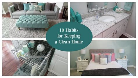 10 Habits For Keeping A Clean House  Youtube