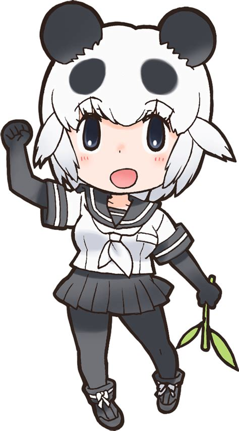 giant panda japari library  kemono friends wiki