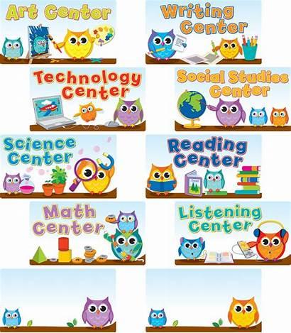 Signs Center Bulletin Board Owls Classroom Owl
