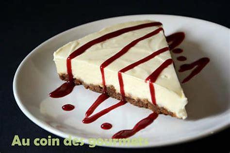 recette de cheesecake speculooschocolat blanccoulis
