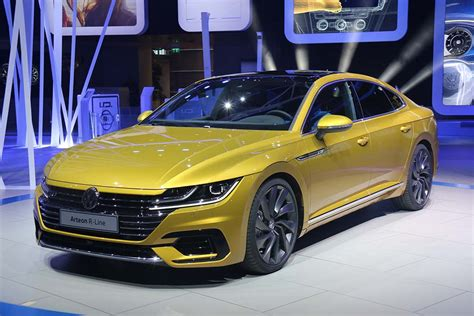 volkswagen arteon vw goes from concept to production with new arteon