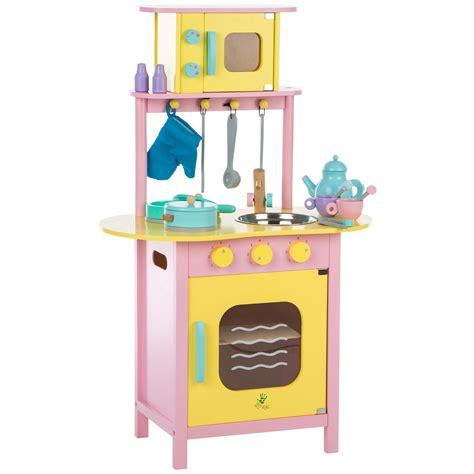 cocina de juguete de madera ultrakidz  accesorios