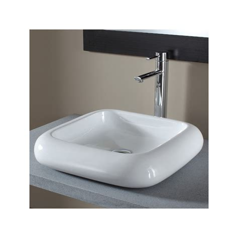 vasque a poser carree vasque a poser blanche vasques en porcelaine planete bain