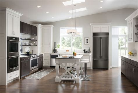 kitchen islands that look like furniture back in black stainless steel vs black stainless steel