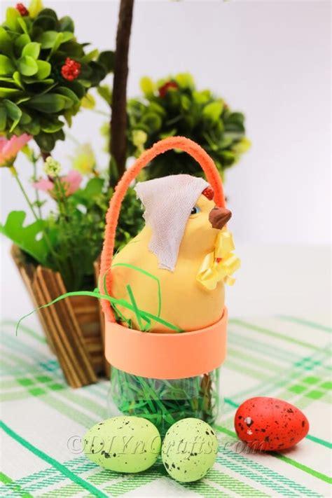 repurpose  plastic bottle   easter basket diy crafts