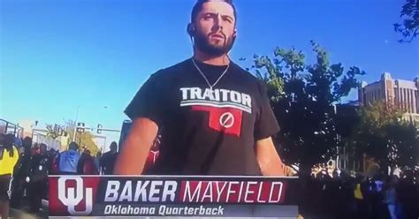 texas tech  oklahoma baker mayfield trolls  team