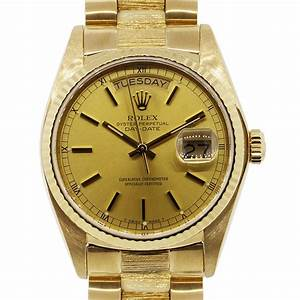 Rolex Day Date Presidential 18k yellow gold watch