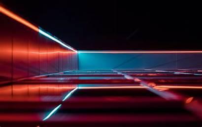 Glow Lines Dark Reflection Unsplash 4k Noren