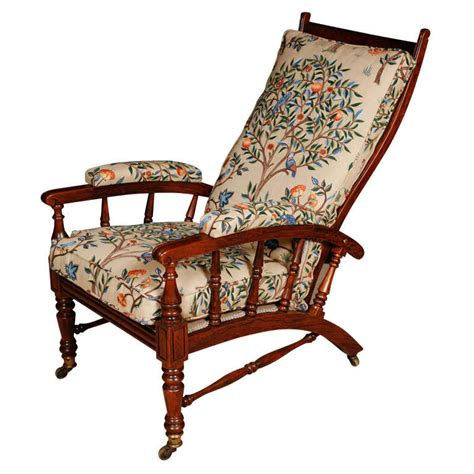 an arts and crafts armchair with adjustable back at 1stdibs