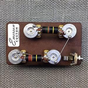 Emerson Custom Les Paul Long Shaft 3  4 U0026quot  Prewired Kit