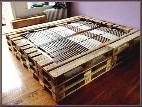 Bett Aus Europaletten Selber Bauen by Betten Selber Bauen Aus Paletten