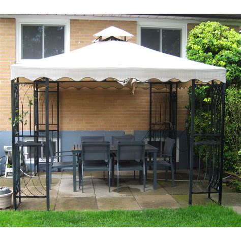 gardenwinds replacement canopy cathedral gazebo replacement canopy garden winds canada