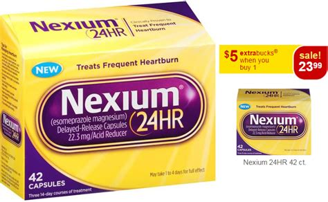 $12.75 (Reg $25) Nexium 24HR at CVS (Week 6/7)