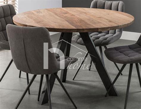 table  manger ronde en bois table de sejour pas cher