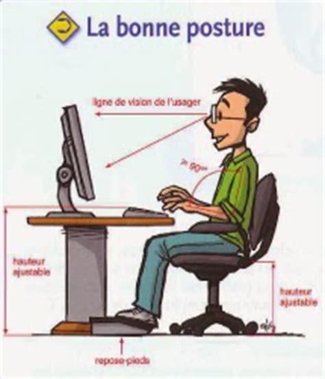 bonne posture au bureau posture et performance holifit