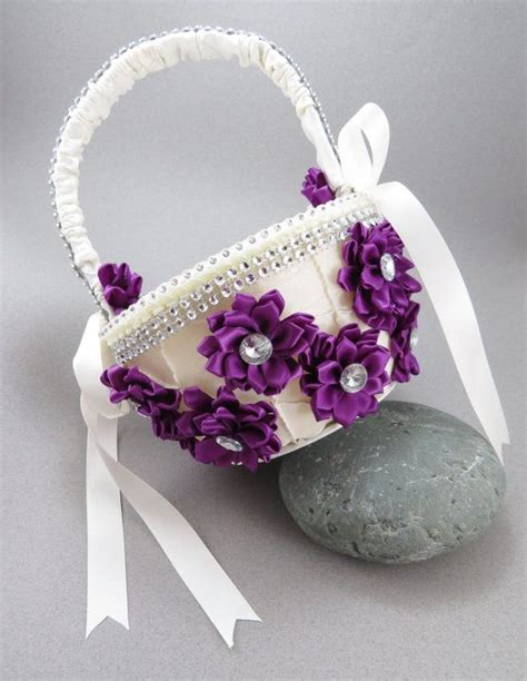 ideas  purple flower girls  pinterest